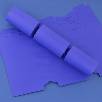 12 Dark Purple Make & Fill Your Own DIY Recyclable Christmas Cracker Boards