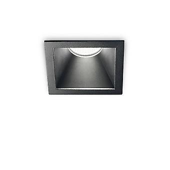 Ideel Lux spil - LED 1 lys forsænket Spotlight Sort