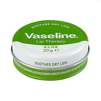 Vaseline Lip Therapy Aloë Vera, 20g 24 uur