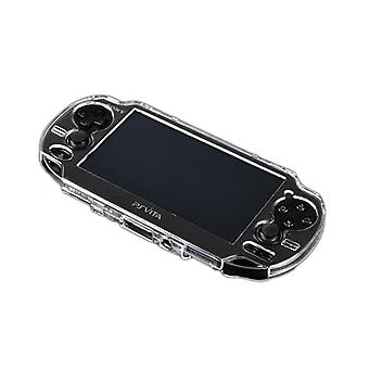 Zedlabz polycarbonate hard case cover shell protective armour for sony ps vita 1000 - glitter clear