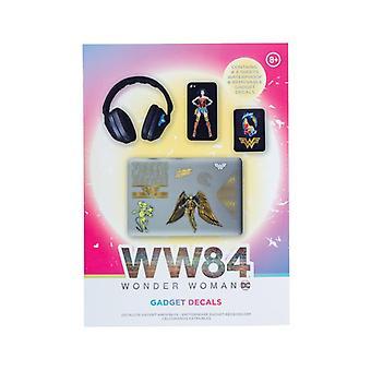 Wonder Woman 1984 Gadget Decalcomanie licensed DC Comics Stickers