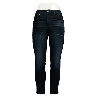 Laurie Felt Women's Jeans Silky Denim Ankle Skinny Zip Fly Blue A374324