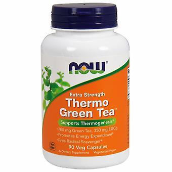 الآن الأطعمة الحرارية الشاي الأخضر، 90 vcaps