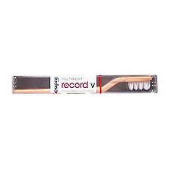 Fuchs Child/ Adult Toothbrushes Record V Nylon Toothbrush, Medium 1 EACH