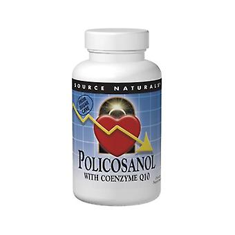 Source Naturals Policosanol, w/CoQ10 30 Tabs