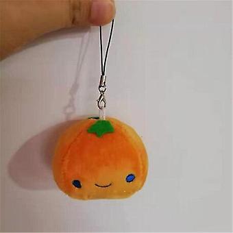 الفاكهة أفخم الخوخ، ميني لطيف لينة محشوة لعبة الكمثرى -قلادة صغيرة الاطفال اللعب
