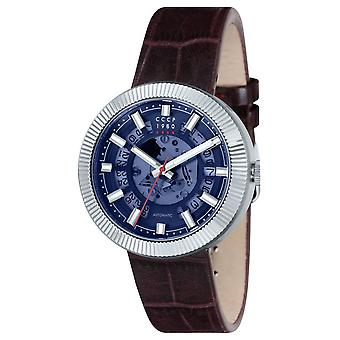 Monino s cp-7025-02 Watch for Analog Quartz Men with Cowhide Bracelet CP-7025-02