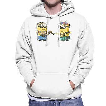 Despicable Me Minions Hula Men's Hooded Sweatshirt