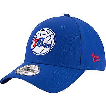New Era 9FORTY Philadelphia 76ers NBA Basketball The League Baseball Cap - Blue