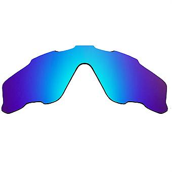 Replacement Lenses for Oakley Jawbreaker Sunglasses Anti-Scratch Blue Mirror