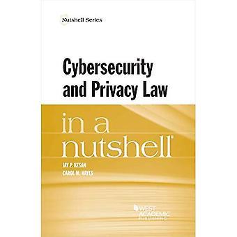 La loi sur la cybersécurité et la protection de la vie privée en bref (Série Nutshell)