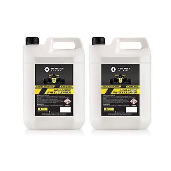 Alloy Wheel Cleaner 2 x 5L Renault F1 Team Non Acidic