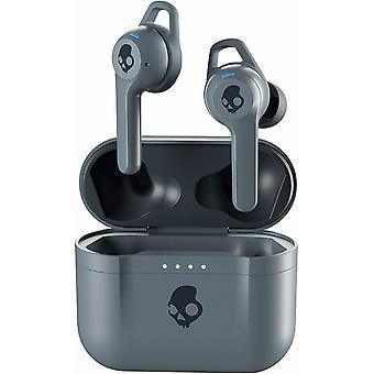 Skullcandy Indy FUEL True Wireless Earbuds Bluetooth Headphones - Chill Grey