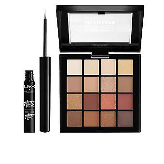 Nyx Professional Make Up Diamonds&ice Shadow&liner Set 2 Pz Para Mujer