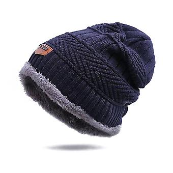 Winter Hut Schal, warm weich gestrickt Set, samt Skullies Mützen Hüte Schals