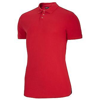 Outhorn TSM619 HOZ19TSM619CIEMNACZERWIE universal summer men t-shirt