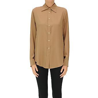 Aspesi Ezgl050110 Camicia in cotone marrone da donna