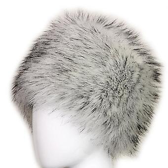 Lady Faux Fox Fur Cossack Stil russiske Vinter Hatter / & Arm Cap