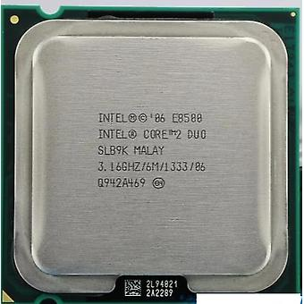 Core 2 Duo E8500 Cpu Processor (3.16ghz/ 6m /1333ghz) Dual-core Socket 775