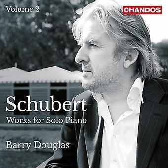 Schubert / Douglas - Franz Schubert: Works for Solo Piano [CD] USA import