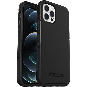 OtterBox Symmetry Series, Sleek Protection for Apple iPhone 12/12 Pro - Black