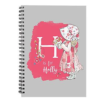 Holly Hobbie H Is For Holly Spiral Notebook