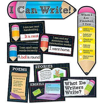 ¡Puedo escribir! Conjunto de mini tablones de boletín