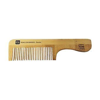 Bamboo Handle Comb 1 unit