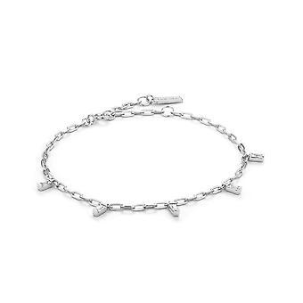 Ania Haie Sterling Silver Rhodium Plated Glow Drop Bracelet B018-01H