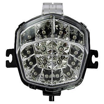 Fiets het LED achterlicht met duidelijke lens en integrale indicatoren - #S072