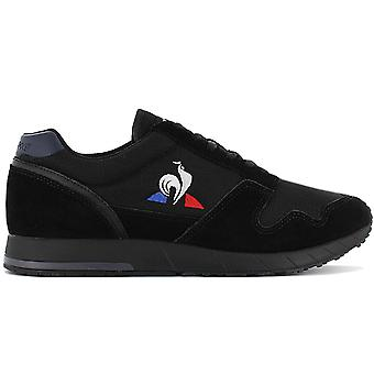 Le Coq Sportif Jazy Classic - Men's Shoes Black 2010140 Sneakers Sports Shoes