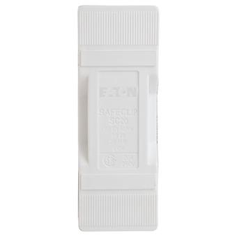 Bussmann SC20HWH 20A Front Connected White Safeclip Fuse Holder