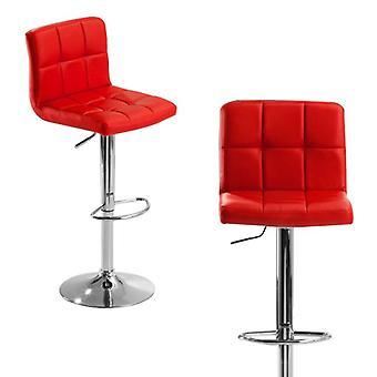 Moderne Fashion Bar Chair Soft Pu Læder Barstool Stol