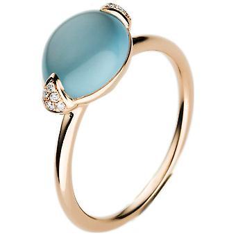 Luna Creación Popularidad Anillo Color Piedra 1B249R854-3 - Ancho del anillo: 54