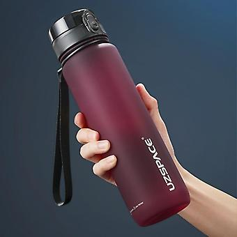 Hot Sports Water Bottle 500ml 1000ml Protein Shaker Outdoor Travel Portable