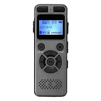 8GB Reîncărcabilă LCD Digital Audio Sound A to B Repetați Voice Recorder Dictaphone