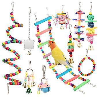 コンビネーション記事 オウム咬傷おもちゃのおもちゃ (写真)