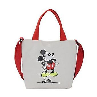 Disney Mini Backpack, Mickey Mouse Diagonal Shoulder Bag, Portable, Canvas, Kid