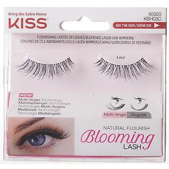 Kiss Natural Flourish Blooming False Eyelashes - Lily - Multi Angle Technology