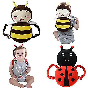 Toddler Baby Walker Head Protective Safety Pads Cushion Backpack Wear Adjustable Infant