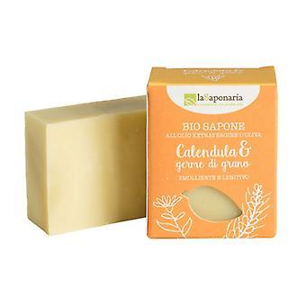 Bio Soap Calendula and Wheat Germ 1 unit of 100g