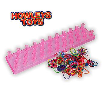 Loopy Loop Loomz Loom Bracciale Deluxe Set