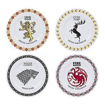 Game of Thrones 4 stykke middag plate sett