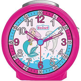 Scout Kinder Wecker Alarm Friends Wasserwelt Pink Mädchen 280001037