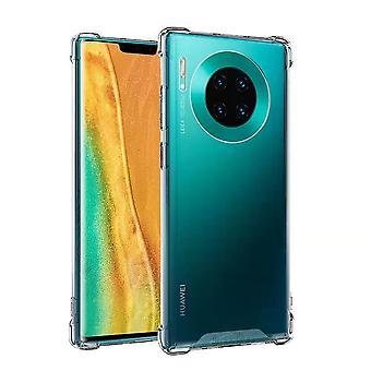 Huawei Mate 30 mål shock bevis transparent - Anti-Shock