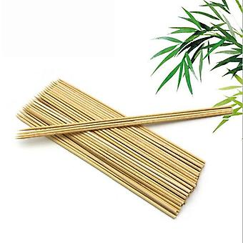 Barbecue Grill Mats Bamboo Skewers Grill Shish Wood Sticks