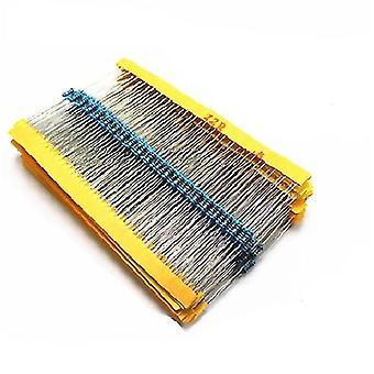 30 Kinds, 1/4w Resistance, 1% Metal Film Resistor, Pack Assorted & 1m Resistors
