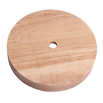Lámpara diy base de mesa redonda dia redonda de 4,72 pulgadas
