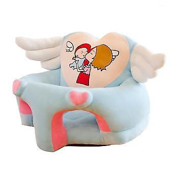 Barn stöd sätesöverdrag soffa utan fyllmedel