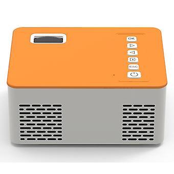 Przenośny projektor wideo, kino domowe, obsługa kina, lampa ledowa telefonu komórkowego